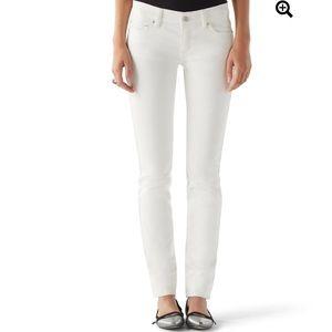 White House Black Market Noir Embellished Jeans